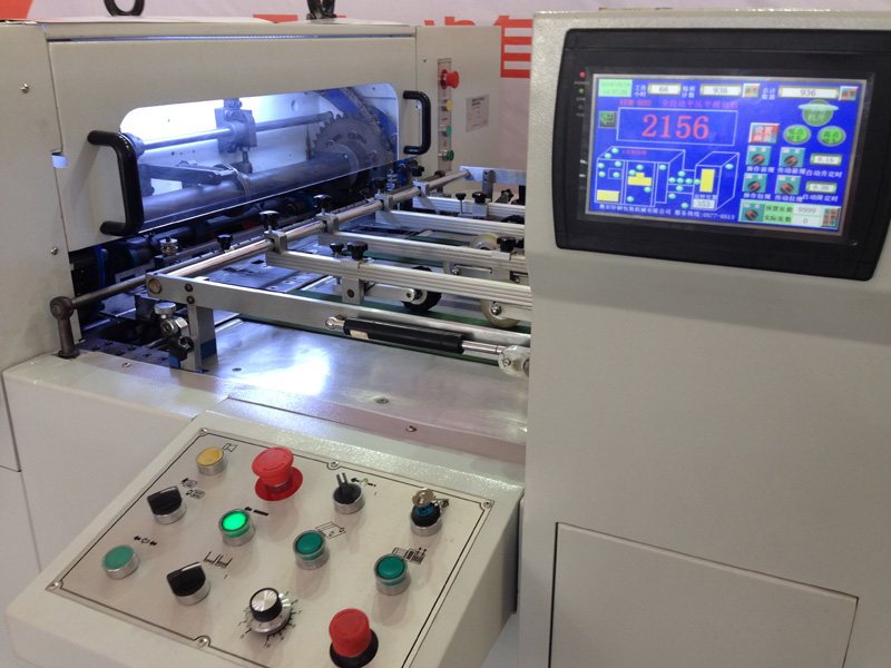 Automatic Die Cutting Creasing Machine Model AEM-1080B