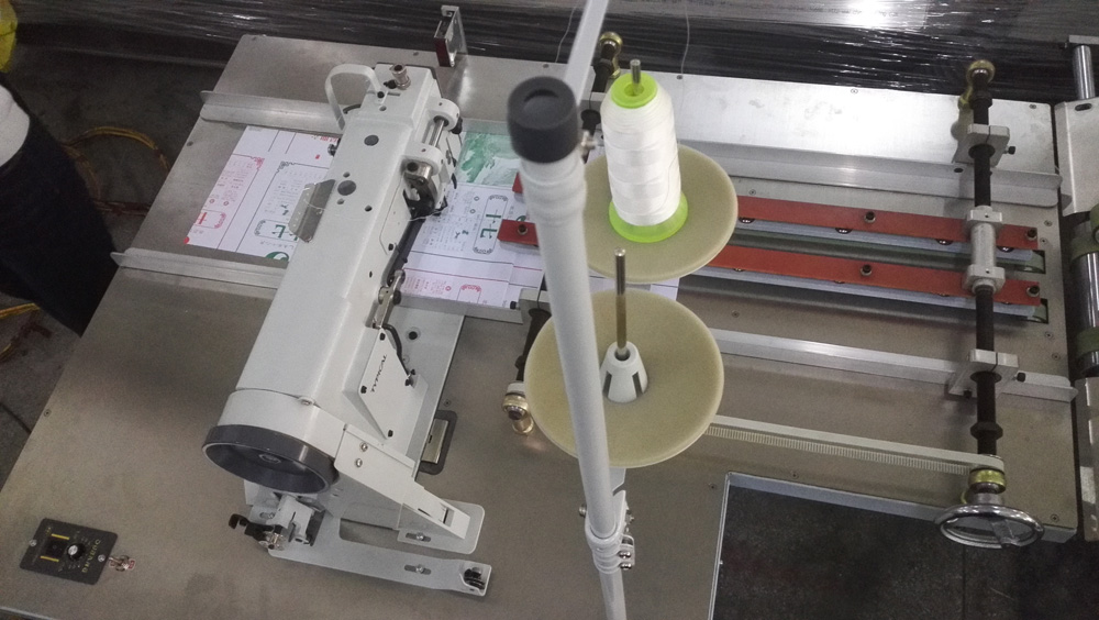 Notebook/Passport/Account Book Sewing Folding Machine